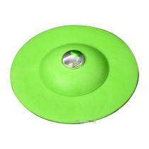 Корок для ванни силіконовий зелений FALA Ø= 100 мм