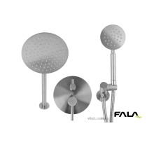 Душовий комплект прихований в стіні STEELY R FALA 2 функції шланг 1.5 м