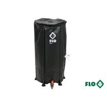"""Бак збірний дощової води з ПВХ FLO 100 л Ø3/4"""" Ø40 x 78 см стійкий до УФ променів"""