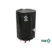 """Бак збірний дощової води з ПВХ FLO 250 л Ø3/4"""" Ø60 x 88 см стійкий до УФ променів"""