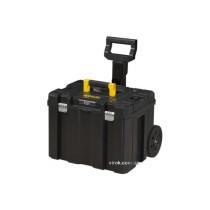 """Ящик для інструментів на колесах STANLEY """"FatMax TSTAK"""" 43 х 63 х 49 см з телескопічною ручкою"""