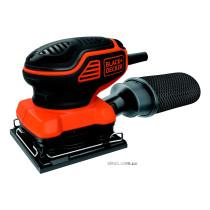 Шліфмашина вібраційна Black+Decker 220 Вт