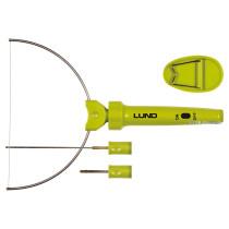 Термоніж до пінопласту мережевий LUND 9 Вт з 3 різальними насадками