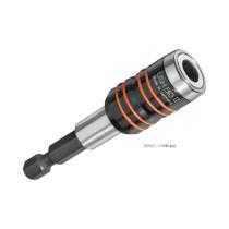 """Тримач викруткових вставок 1/4"""" магнітний швидковстановлюючий USH, l= 68 мм"""