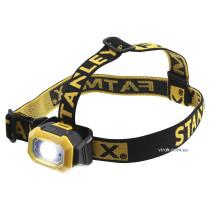 """Ліхтар на чоло STANLEY """"FatMax"""" : LED-діодний, 2 режими 50/200 Lm, з живлен.- 3 ААА батарейки"""