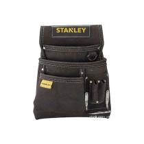 Кишені на пояс замшеві STANLEY для інструментів і цвяхів з тримачем для молотка
