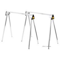 Стійки розкладні STANLEY: робоча висота- 85 см, навантаження- 340 кг, 74 х 42 см, 2 шт