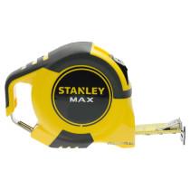 """Рулетка з метричною шкалою на сталевій стрічці і пластик. корпусом STANLEY """"MAX"""" 5м х 25 мм"""