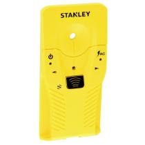 Детектор прихованих неоднорідних матеріалів глиб- 19 мм STANLEY, провідників зі струмом радіу- 50 мм