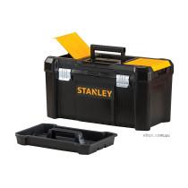 """Ящик для інструментів пластиков. з метал. защіпками і комірками в кришці Stanley 19""""; 48х 25х 25см"""