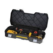 """Ящик для електроінструментів пластиковий 24"""" STANLEY 61 х 11 х 33 см з металевими замками"""