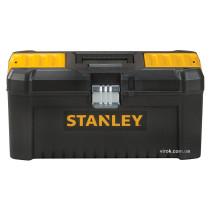 """Ящик для інструментів пластиковий 16"""" STANLEY 20 х 19.5 х 41 см з металевими замками"""
