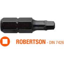 Насадка викруткова INDUSTRY USH ROBERTSON R0 x 25 мм 5 шт