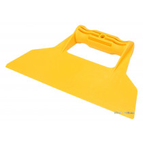 Шпатель для сумішей і клея пластиковий VOREL 225 мм