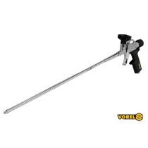 Пістолет для нанесення монтажної піни з подовженим соплом VOREL 500 мм алюмінієвий