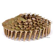 Цвяхи барабанні до пневматичного цвяхозабивного пістолета VOREL 19 х 3.1 мм 4200 шт