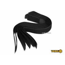Хомут-липучка для кабеля VOREL 25 x 300 мм нейлон + поліестер + поліуретан 10 шт
