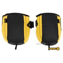 Наколінники захисні жовто-чорні VOREL з поліетилену