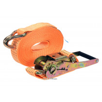 Ремінь для кріплення багажу з тріщаткою VOREL, сила натягу- 250/500 кгс, 8 м х 50 мм, 2 шт.