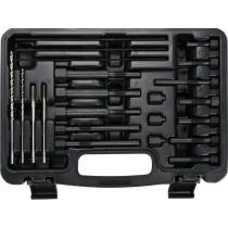 Набір інструментів YATO для демонтажу свічок розжарювання в двигунах 22 шт. HSS