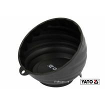 Посудина магнітна YATO: Ø= 110 мм