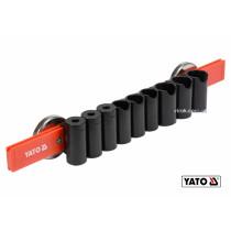 Рейка пластикова з магнітним кріпленням для 9 інструментів YATO 350 х 50 х 40 мм