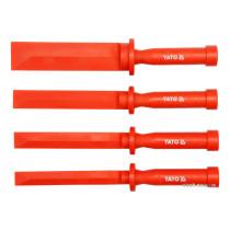 Скребки пластикові YATO : L= 265 мм, кпл. 4 шт. [6/36]