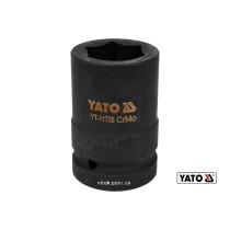 "Головка торцева ударна шестигранна YATO 1"" М32 x 80 мм Cr-Mo"