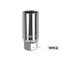 """Головка торцева до свічок двигуна YATO 1/2"""" M21 x 64 мм"""
