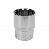 "Головка торцева Spline YATO 1/2"" M24 x 38 мм CrV [Блістер]"