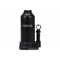 Домкрат гідравлічний стовбцевий YATO : 8 т, H= 220 - 488 мм