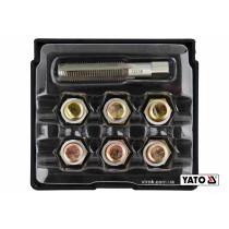 Набір для ремонту оливних пробок YATO М13 х 1.5 6 шт
