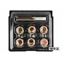 Набір для ремонту оливних пробок YATO М15 х 1.5 6 шт