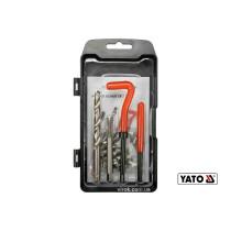 Приладдя для відновлення внутрішньої різьби YATO М8 x 1.25 мм HSS 4241/4341 30 шт