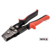 Кліщі затискні для виробів з бляхи YATO 230 мм