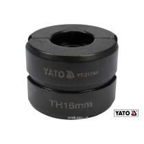 Насадка для прес-кліщів YT-21735 YATO TH16 мм