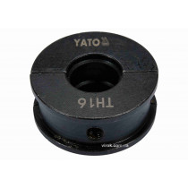 Насадка для прес-кліщів YT-21750 YATO TH16 мм