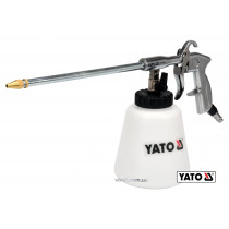 Пістолет пневматичний для утворення піни YATO з соплом 220 м 1 л 113 л/хв 0.62 МПа