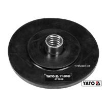 Наконечник дисковий резиновий для очищення каналізації YATO 10 см x 6 мм до YT-24980