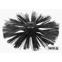 Щітка для очищення каналізації YATO 25 см з нейлона і поліпропіленового ворса до YT-24980