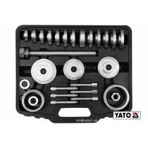 Набір для демонтажу підшипників і втулок YATO: гвинт l= 38 мм, 31 шт