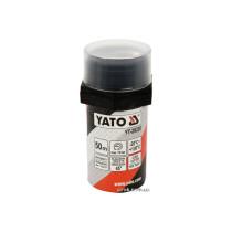 Нитка ущілювальна різьбових сполучень YATO, l= 50 м, для тиску ≤ 15 Bar, в капсулі