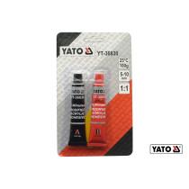 Клей двокомпонентний акриловий YATO 5-10 хв по 10 г