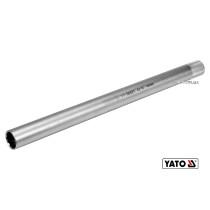 """Головка торцева дванадцятигранна до свічок двигунів YATO 3/8"""" M14 x 250 мм Cr-V"""