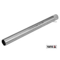 """Головка торцева дванадцятигранна до свічок двигунів YATO 3/8"""" M16 x 250 мм Cr-V"""