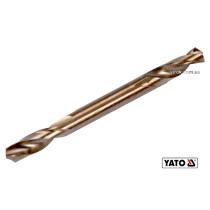 Свердло по металу двостороннє шліфоване YATO 5 x 62/16 мм HSS 6542