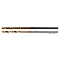 Свердла по металу титанові YATO : HSS-TIN, Ø= 1.0 мм, l= 34/12 мм, 2 шт