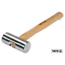 Молоток слюсарний алюмінієвий YATO Ø40 x 300 мм 300 г