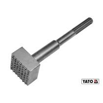 Долото-бучарда для вирівнювання поверхні бетону YATO SDS-Max 240 x 60 x 60 мм