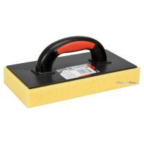 Терка для змивання керамічної плитки пластикова YATO 270 x 130 мм з губкою 40 мм